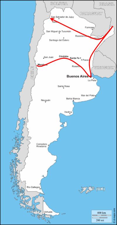Trajet_Argentine